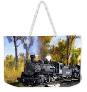 Cumbres And Toltec Railroad Weekender Tote Bag