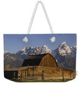 Cunningham Cabin Grand Tetons Wyoming Weekender Tote Bag