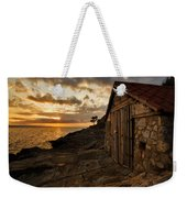 Cunski Beach At Sunrise Weekender Tote Bag