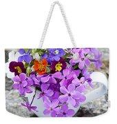 Cup Full Of Wildflowers Weekender Tote Bag by Edward Fielding
