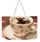 Cup Of Chocolate Weekender Tote Bag