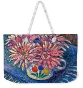 Cup Of Flowers Weekender Tote Bag