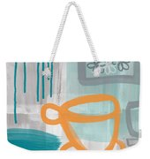 Cup Of Happiness Weekender Tote Bag by Linda Woods