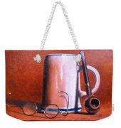 Cup Pipe And Glasses Weekender Tote Bag