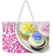 Cupcakes On A Plate Weekender Tote Bag