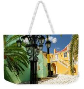Curacao Colorful Architecture Weekender Tote Bag