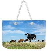 Curious Bull Weekender Tote Bag