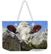Curious Cow Weekender Tote Bag