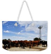 Curious Cows Weekender Tote Bag