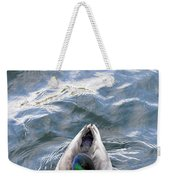 Curious Duck Weekender Tote Bag