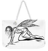 Curious Fairy 1 Weekender Tote Bag