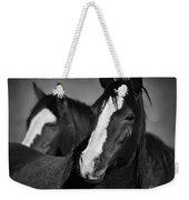 Curious Horses Weekender Tote Bag