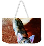 Curious Kitty Weekender Tote Bag