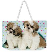 Curious Twins Weekender Tote Bag