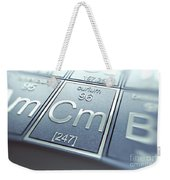 Curium Chemical Element Weekender Tote Bag