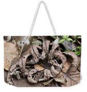 Curled Leaves Weekender Tote Bag