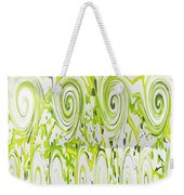 Curly Greens Weekender Tote Bag