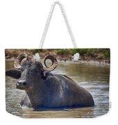 Curly Horns Weekender Tote Bag