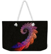 Curly Swirl - Digital Painting Effect Weekender Tote Bag