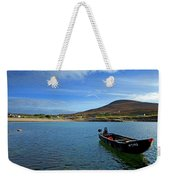 Curragh Moored At Dooega Village Weekender Tote Bag