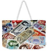 Currencies Weekender Tote Bag