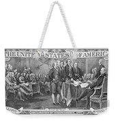 Currency: Two Dollar Bill Weekender Tote Bag