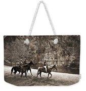 Current River Horses Weekender Tote Bag