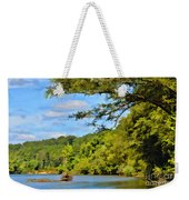 Current River Mo - Digital Paint Weekender Tote Bag