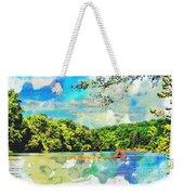 Current River Mo - Digital Paint II Weekender Tote Bag