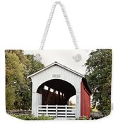 Currin Covered Bridge Weekender Tote Bag