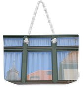 Curtained Reflection Weekender Tote Bag