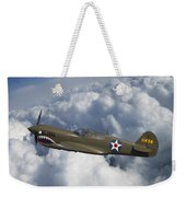 Curtiss P-40 Warhawk Flying Tigers Weekender Tote Bag