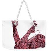 Curves And Squares Weekender Tote Bag