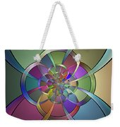 Curves Weekender Tote Bag by Sandy Keeton