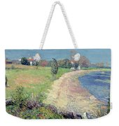Curving Beach Weekender Tote Bag