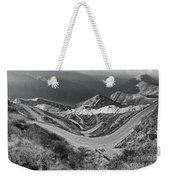 Curvy Roads Silk Trading Route Between China And India Weekender Tote Bag