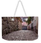Cusco City Street Weekender Tote Bag