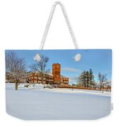 Cushing Academy In Winter Weekender Tote Bag