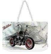Custom Bobber Weekender Tote Bag
