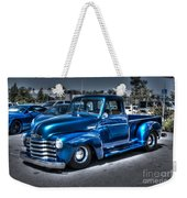 Custom Chevy Pickup Weekender Tote Bag