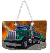 Custom Gravel Truck Catr0278-12 Weekender Tote Bag