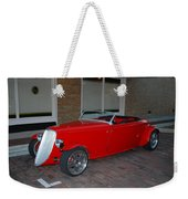 Custom Hotrod Weekender Tote Bag