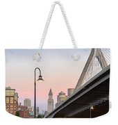Custom House And Zakim Bridge Weekender Tote Bag