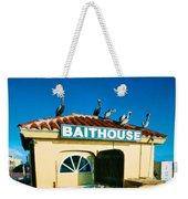 Customers At The Baitshop Weekender Tote Bag