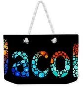 Customized Baby Kids Adults Pets Names - Jacob 3 Name Weekender Tote Bag