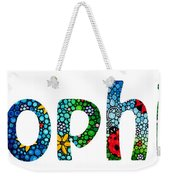 Customized Baby Kids Adults Pets Names - Sophia Name Weekender Tote Bag