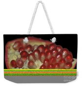 Cut Pomegranate Fruit Weekender Tote Bag