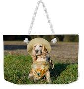 Cute Dog Weekender Tote Bag