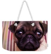 Cute Pug Puppy Weekender Tote Bag