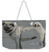 Cute Puggy Dog Weekender Tote Bag
